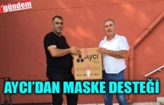 AYCI'DAN KÖMÜRSPOR'A SEZON BOYU YETECEK...