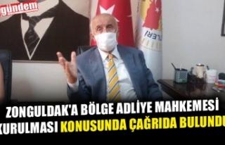 BARO BAŞKANI EROĞLU, ZONGULDAK'A BÖLGE ADLİYE...