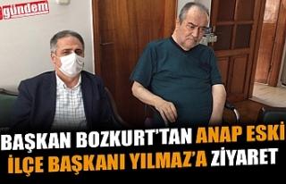 BAŞKAN BOZKURT'TAN ANAP ESKİ İLÇE BAŞKANI YILMAZ'A...