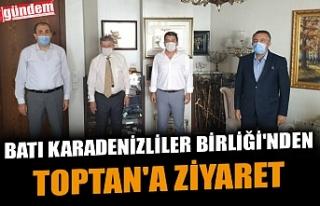 BATI KARADENİZLİLER BİRLİĞİ'NDEN TOPTAN'A...