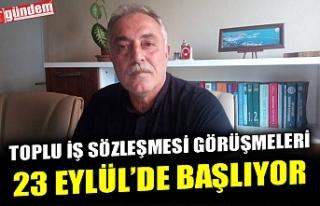 BELEDİYE-İŞ SENDİKASIYLA DEVREK BELEDİYESİ ARASINDA...