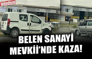 BELEN SANAYİ MEVKİİNDE KAZA