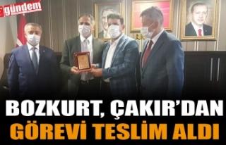 BOZKURT, PARTİ BİNASINDA ÇAKIR'DAN GÖREVİ...