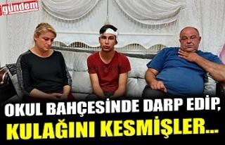 DARP EDİP, KULAĞINI KESMİŞLER...
