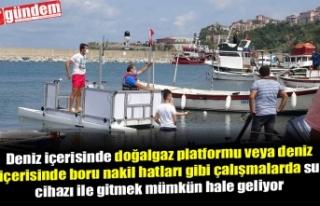 DENİZ DİBİ ÇALIŞMALARINA SU CİHAZIYLA GİTMEK...