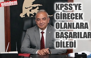 DEVREK BELEDİYE BAŞKANI BOZKURT, KPSS'YE GİRECEKLERE...