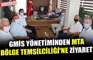 GMİS YÖNETİMİNDEN MTA BÖLGE TEMSİLCİLİĞİ'NE...
