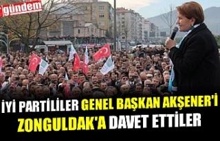 İYİ PARTLİLİLER GENEL BAŞKAN AKŞENER'İ...