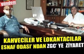 KAHVECİLER VE LOKANTACILAR ESNAF ODASI' NDAN...