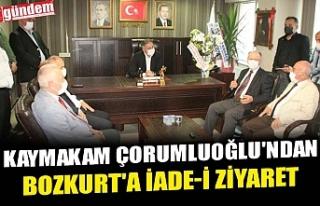 KAYMAKAM ÇORUMLUOĞLU'NDAN BOZKURT'A İADE-İ...