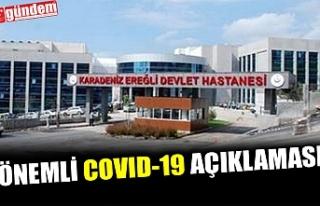 KDZ. EREĞLİ DEVLET HASTANESİ'NDEN ÖNEMLİ...