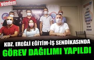 KDZ. EREĞLİ EĞİTİM-İŞ SENDİKASINDA GÖREV...