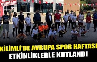 KİLİMLİ'DE AVRUPA SPOR HAFTASI ETKİNLİKLERLE...