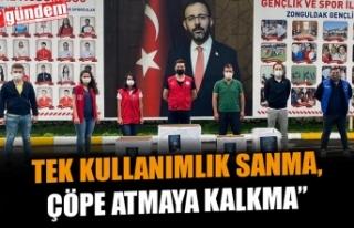 KPSS'DE DAĞITILAN KALEM VE SİLGİLERİ KÖY...