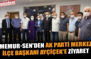 MEMUR-SEN'DEN AK PARTİ MERKEZ İLÇE BAŞKANI...