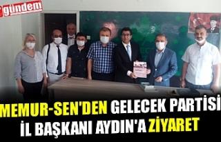 MEMUR-SEN'DEN GELECEK PARTİSİ İL BAŞKANI...