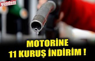 MOTORİNE 11 KURUŞ İNDİRİM