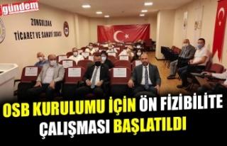 OSB KURULUMU İÇİN ÖN FİZİBİLİTE ÇALIŞMASI...