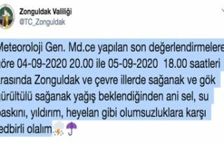 SEL VE SU BASKINLARINA DİKKAT