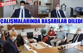 VALİ TUTULMAZ'DAN AV. EROĞLU VE BAŞSAVCI YAĞIZ'A...