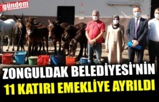 ZONGULDAK BELEDİYESİ'NİN 11 KATIRI EMEKLİYE...