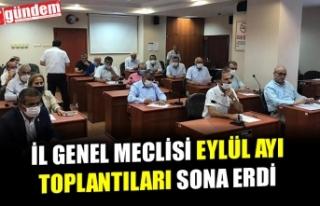 ZONGULDAK İL GENEL MECLİS TOPLANTISI SONA ERDİ