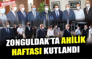 ZONGULDAK'TA AHİLİK HAFTASI KUTLANDI