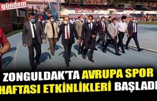 ZONGULDAK'TA AVRUPA SPOR HAFTASI ETKİNLİKLERİ...