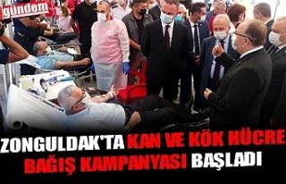 ZONGULDAK'TA KAN VE KÖK HÜCRE BAĞIŞ KAMPANYASI...