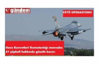Hava Kuvvetleri Komutanlığı'nda Operasyon