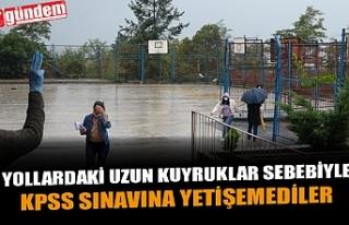 ZONGULDAKLININ KPSS ÇİLESİ...