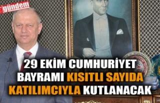 29 EKİM CUMHURİYET BAYRAMI KISITLI SAYIDA KATILIMCIYLA...