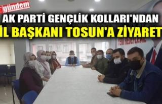 AK PARTİ GENÇLİK KOLLARI'NDAN İL BAŞKANI...