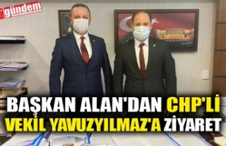 BAŞKAN ALAN'DAN CHP'Lİ VEKİL YAVUZYILMAZ'A...
