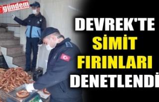 DEVREK'TE SİMİT FIRINLARI DENETLENDİ