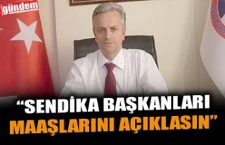 EĞİTİM-İŞ ZONGULDAK ŞUBE BAŞKANI KAHVECİ,...