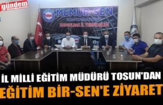 İL MİLLİ EĞİTİM MÜDÜRÜ TOSUN'DAN EĞİTİM...