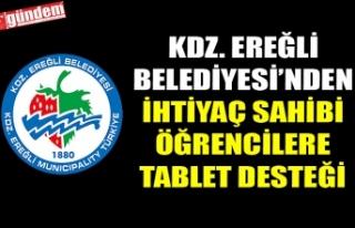 KDZ. EREĞLİ BELEDİYESİ'NDEN İHTİYAÇ SAHİBİ...