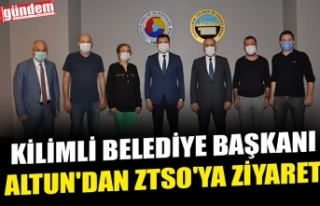 KİLİMLİ BELEDİYE BAŞKANI ALTUN'DAN ZTSO'YA...