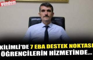 KİLİMLİ'DE 7 EBA DESTEK NOKTASI ÖĞRENCİLERİN...