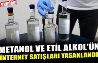 METANOL VE ETİL ALKOL'ÜN İNTERNET SATIŞLARI...