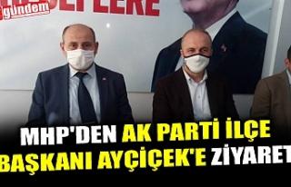 MHP'DEN AK PARTİ İLÇE BAŞKANI AYÇİÇEK'E...