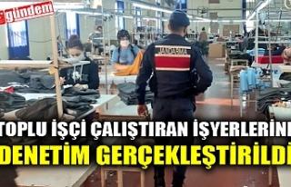 TOPLU İŞÇİ ÇALIŞTIRAN İŞYERLERİNE DENETİM...