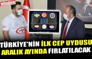 TÜRKİYE'NİN İLK CEP UYDUSU ARALIK AYINDA...