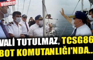 VALİ TUTULMAZ, TCSG86 BOT KOMUTANLIĞI'NDA...