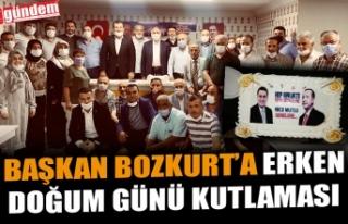YÖNETİM KURULU ÜYELERİNDEN BAŞKAN BOZKURT'A...