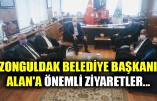 ZONGULDAK BELEDİYE BAŞKANI ALAN'A ÖNEMLİ...