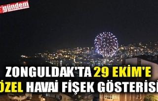 ZONGULDAK'TA 29 EKİM'E ÖZEL HAVAİ FİŞEK...