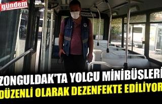 ZONGULDAK'TA YOLCU MİNİBÜSLERİ DÜZENLİ...
