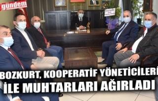 BOZKURT, KOOPERATİF YÖNETİCİLERİ İLE MUHTARLARI...